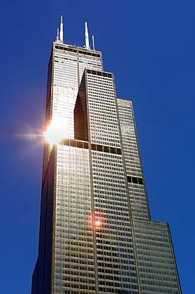 Der Sears-Tower in Chicago