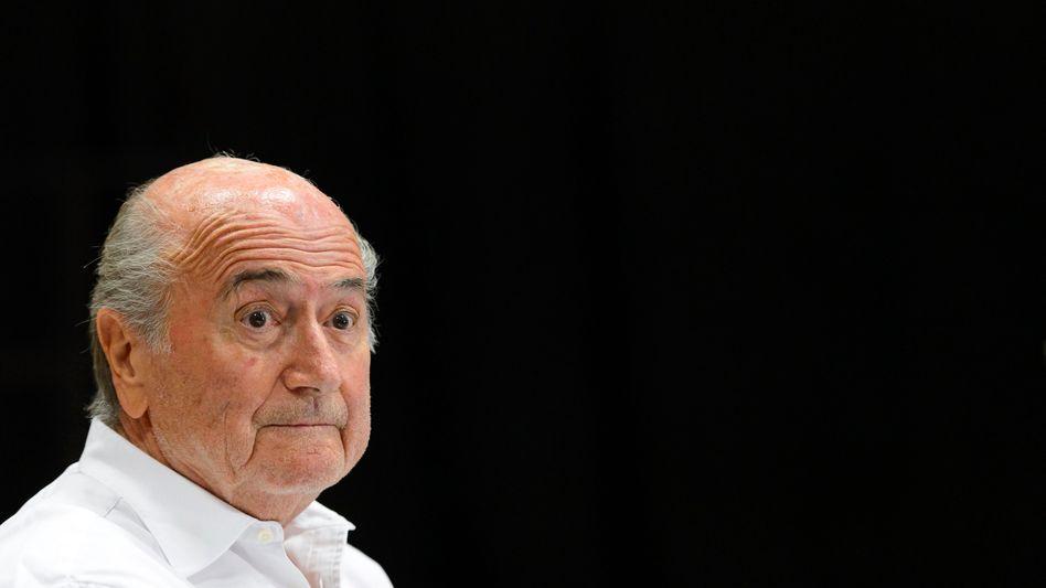 """Suspendierter Fifa-Boss Blatter: """"Mangelhafte Vergabeverfahren"""""""