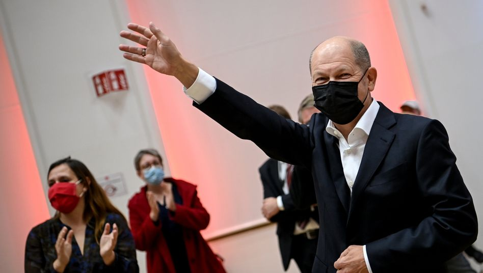 """SPD-Kanzlerkandidat Scholz: """"Ich genieße das sehr"""""""