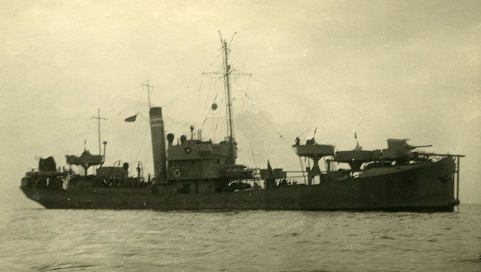 V 812 auf einem Foto von 1930