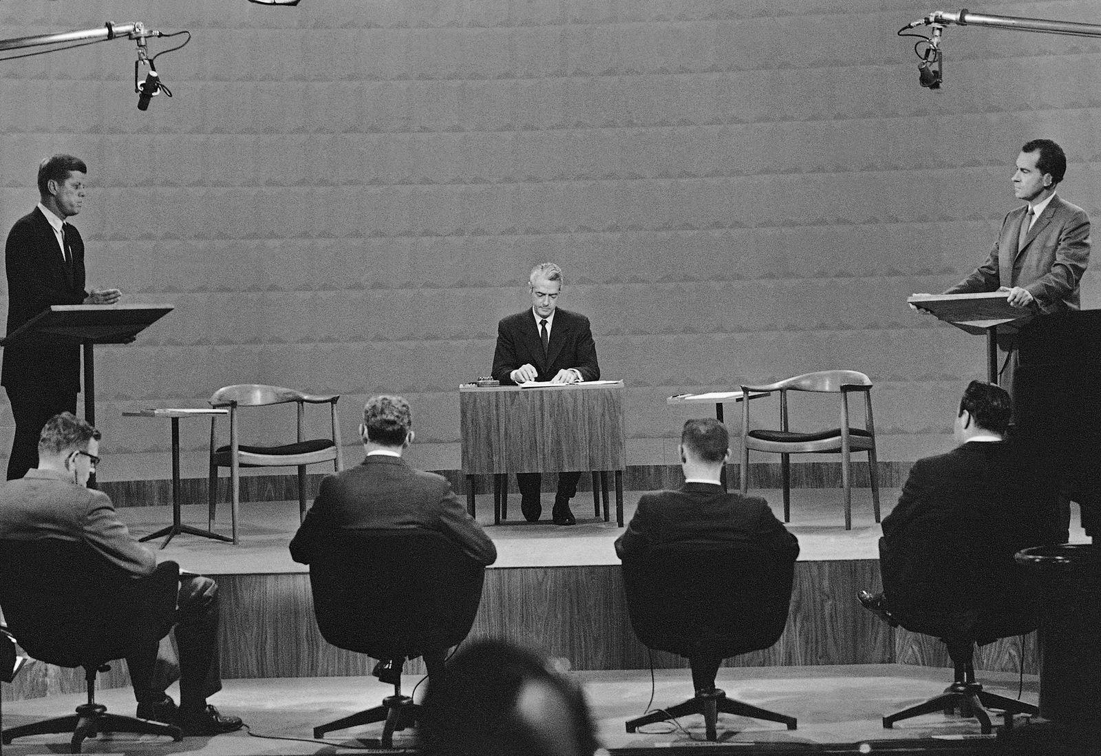 Richard Nixon; John F. Kennedy; Howard K. Smith