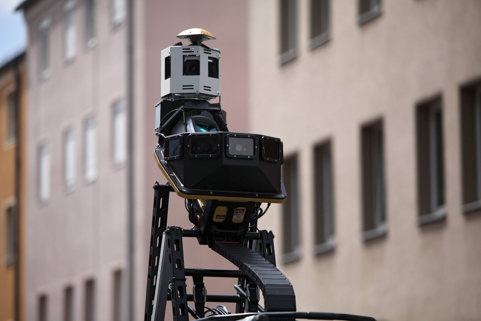 Bing Maps Streetside - Kamera-Auto