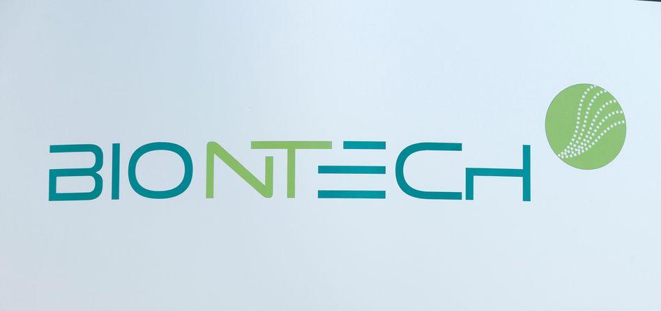 Logo des Biotechunternehmens Biontech