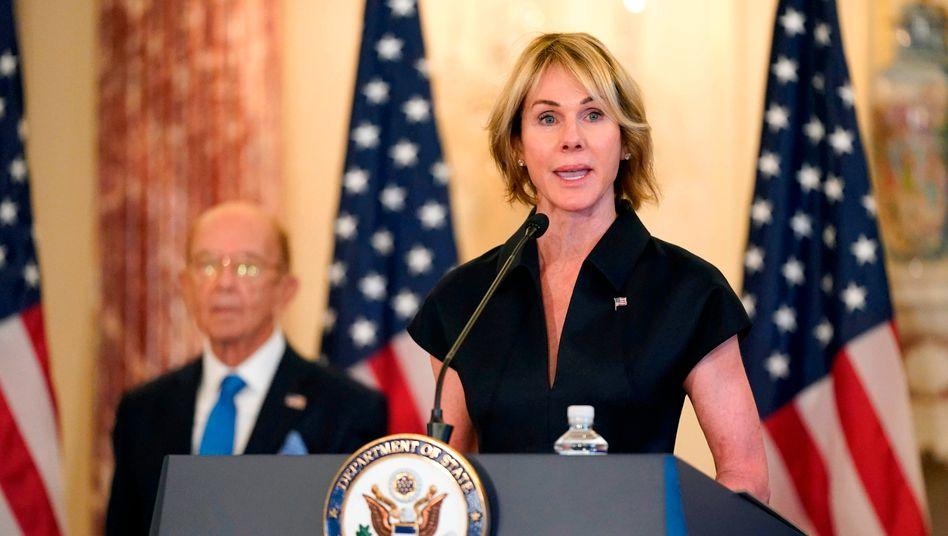 US-Diplomatin Kelly Craft: Die Uno-Vertreterin der Vereinigten Staaten wird Taipeh vom 13. bis 15. Januar besuchen