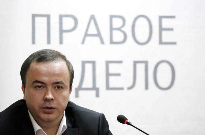 Andrej Dunajew: Konkursverwalter einer ruinierten Partei