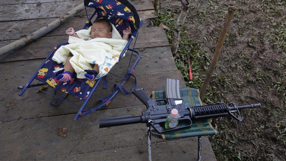 Farc-Rebellen: Nachwuchs für Guerilla-Mütter