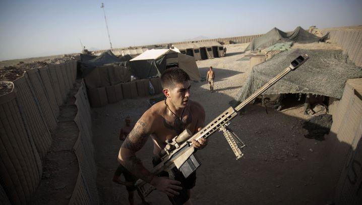 Marines in Afghanistan: Die Hölle in Helmand