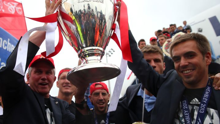 Bayern-Rückkehr: Der Pott ist in München