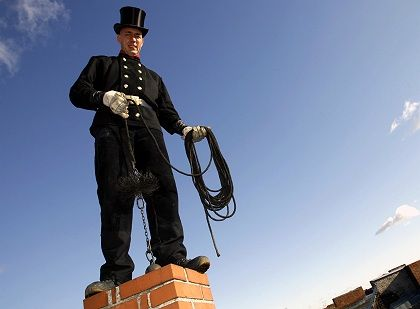 The new great white hope of the environmentalist movement: chimney sweeps