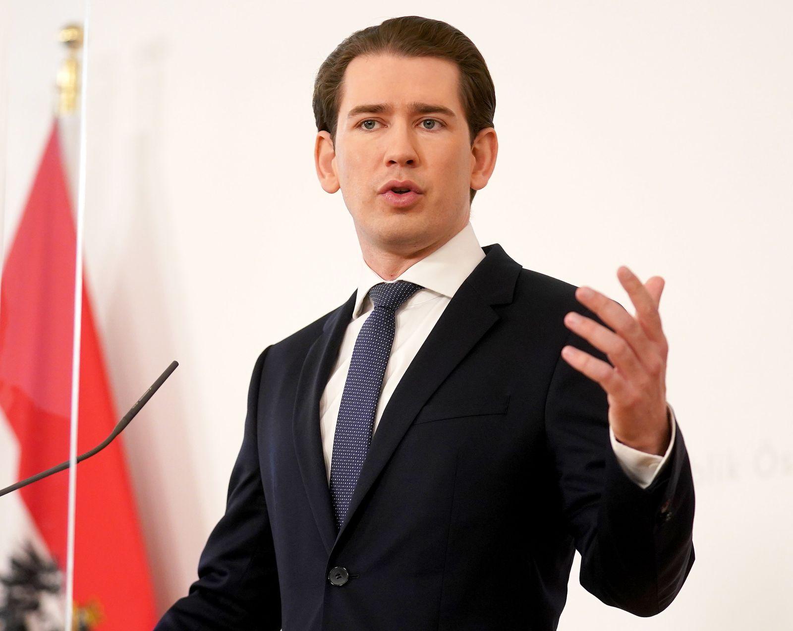 CORONA: PRESSEFOYER NACH DEM MINISTERRAT · KURZ