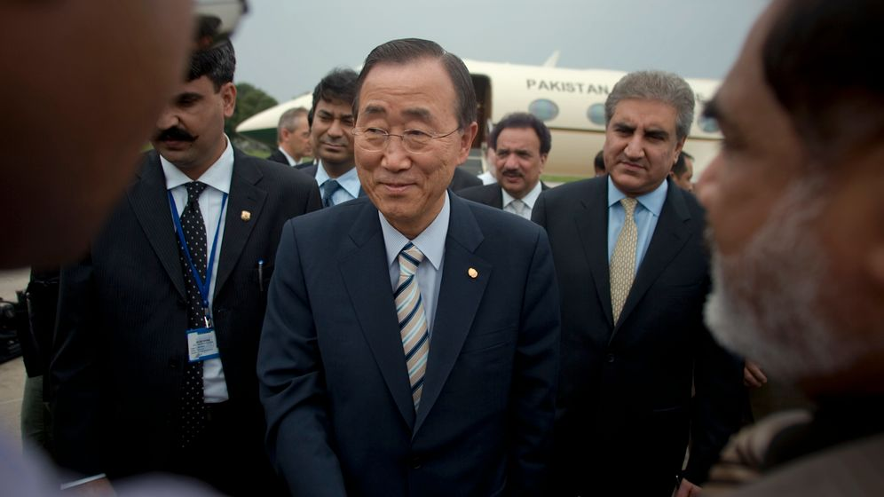 Flutkatastrophe in Pakistan: Uno-Generalsekretär verspricht Hilfe