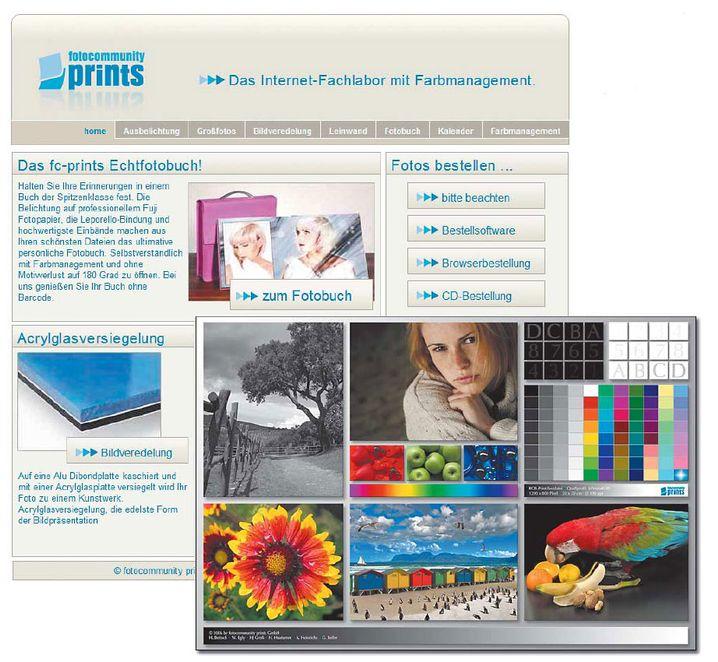 Eine erfreulich sachliche und übersichtliche Website, welche auch die Hürden beim Farbmanagement überwinden hilft. Auf Wunsch sendet fotocommunity prints den abgebildeten Testprint kostenlos zu.