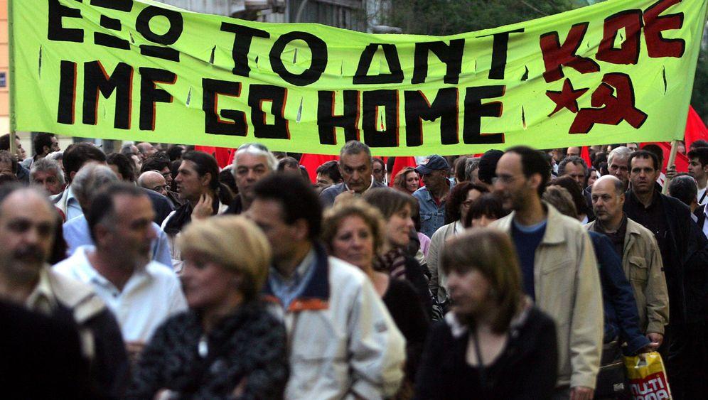 Athen: Krawalle in der Innenstadt