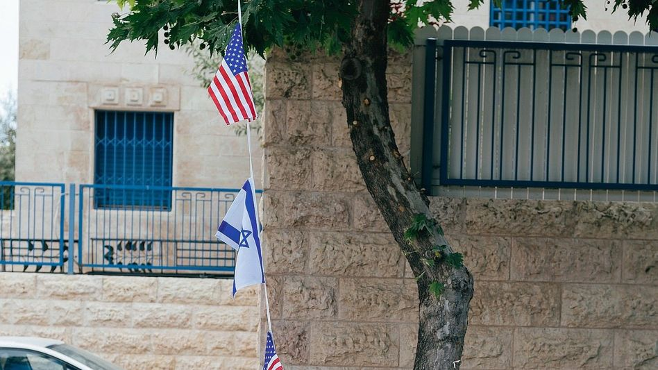 Straße in Jerusalem
