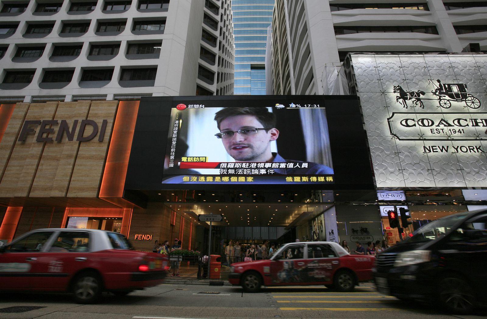 Hong Kong/ Snowden