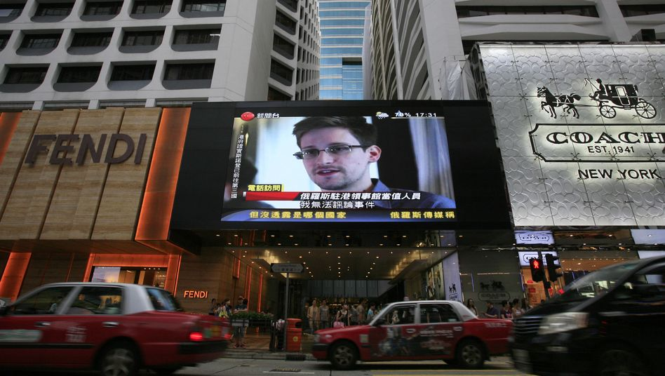 Edward Snowden: Von Hawaii über Hongkong nach Moskau