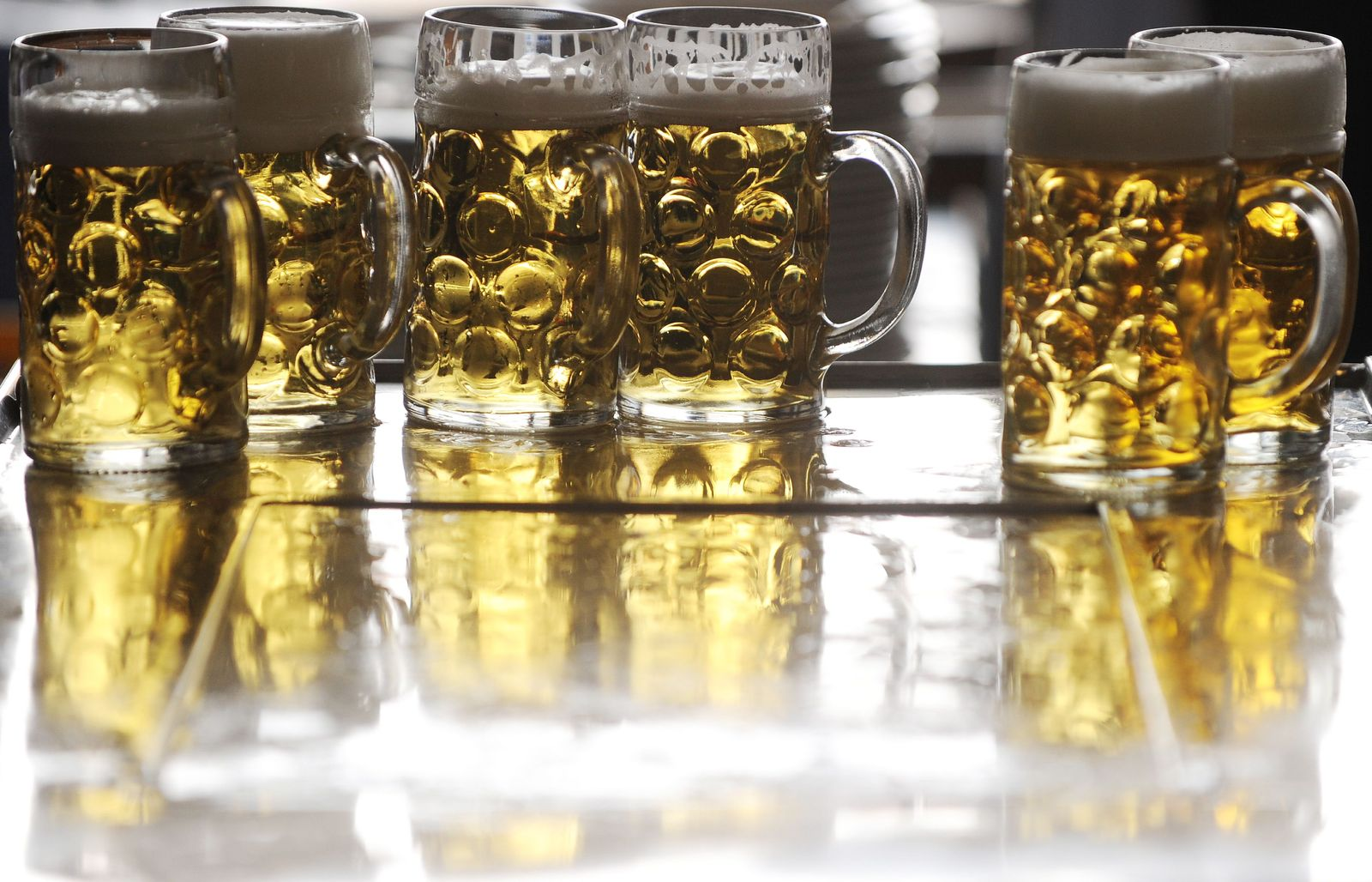 EINMALIGE VERWENDUNG Bier