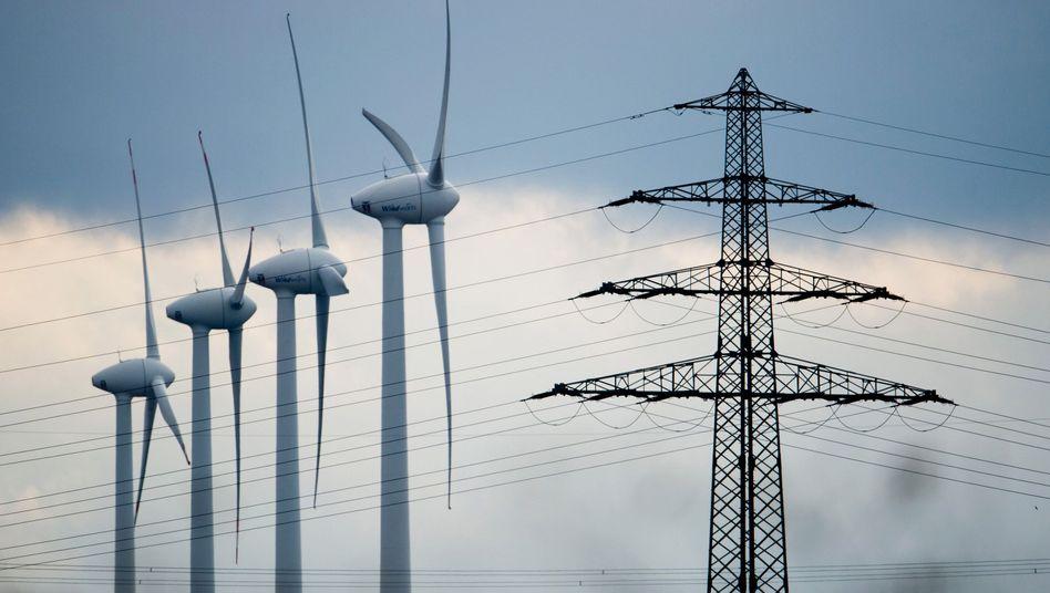 Windenergie: Zuviel Windstrom, zu wenige Leitungen