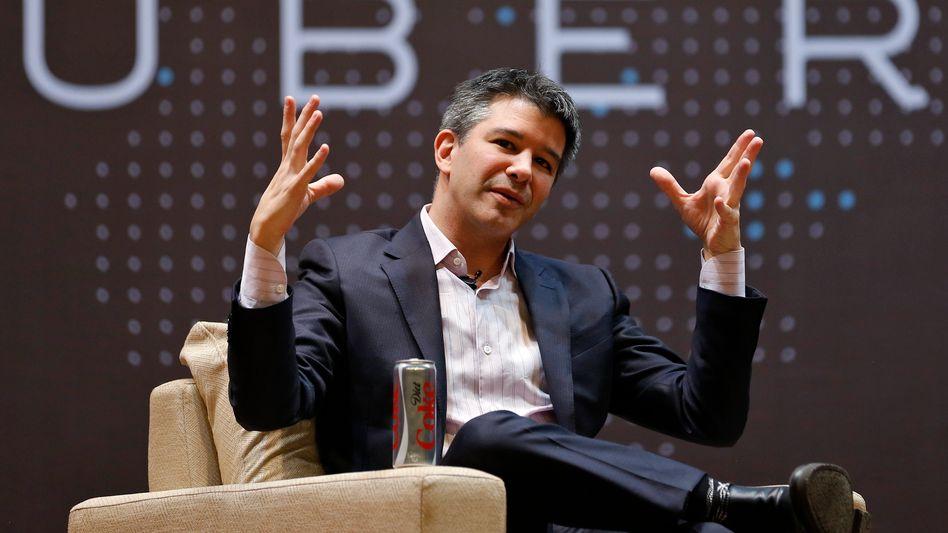 Travis Kalanick, der CEO von Uber