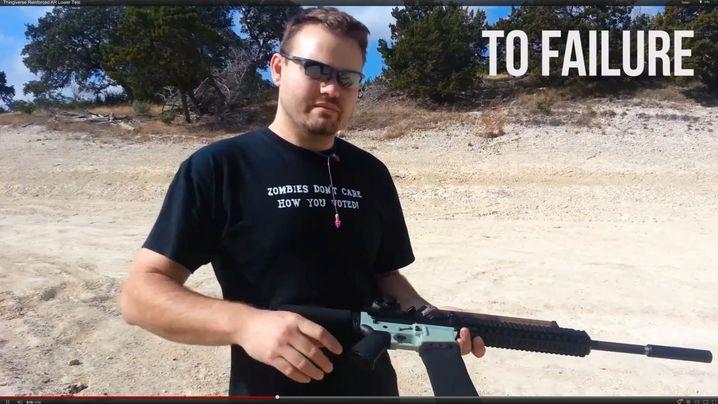Wiki Weapons: Waffenteile aus dem Drucker