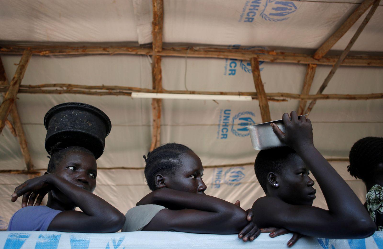 Uganda Südsudan Flüchtlinge