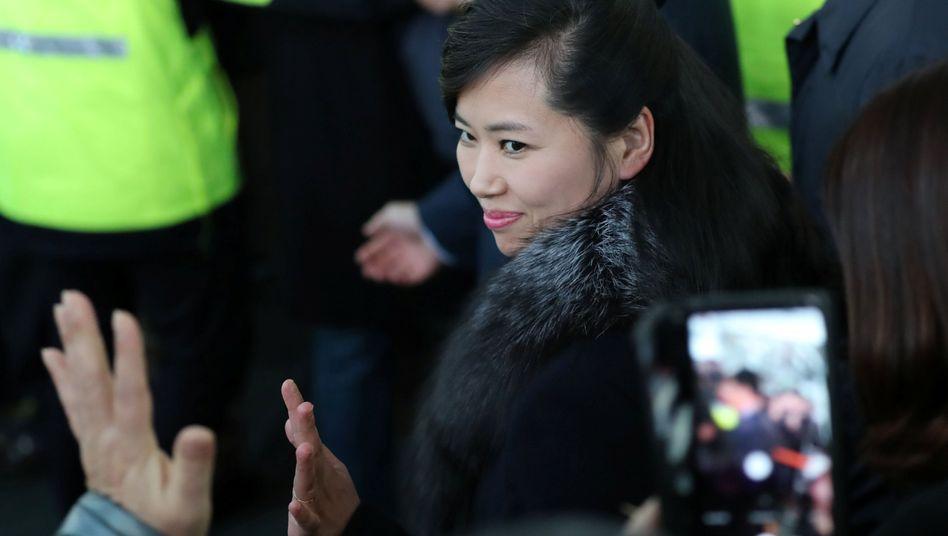 Nordkoreanische Sängerin Hyon Song Wol