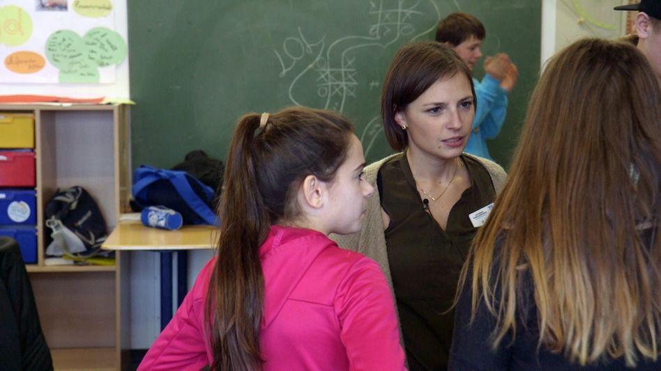 Deutschlehrerin Marie-Therese Exler