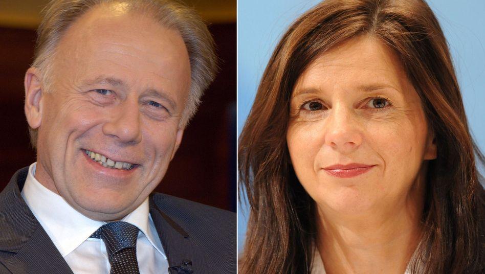 Spitzenkandidaten der Grünen: Jürgen Trittin und Katrin Göring-Eckardt