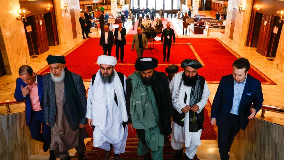 Radikale auf dem diplomatischen Parkett: Taliban-Delegation in Moskau