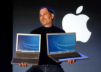 Steve Jobs, Mitbegründer, Chef und Messias der Apfelsekte