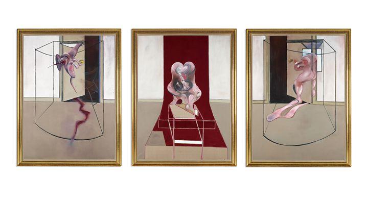 """Francis Bacon, """"Triptychon, angeregt durch die Orestie von Aischylos"""""""