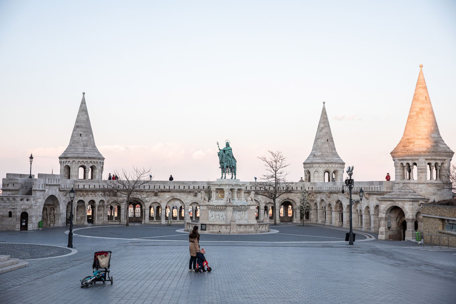 Hungary's Capital As Virus Hands Orban Sweeping Powers