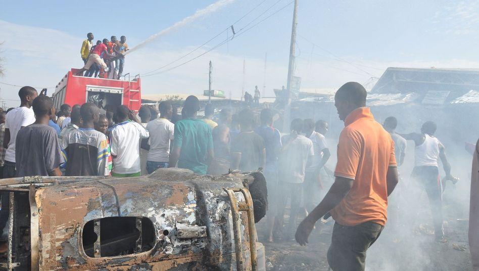 Chaos in Maiduguri: Erneut explodierte eine Autobombe in Nigeria