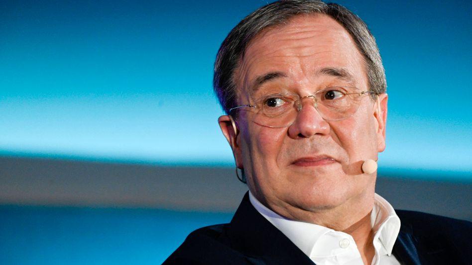 CDU-Chef Armin Laschet beim »Brigitte«-Talk, 7. Juli 2021