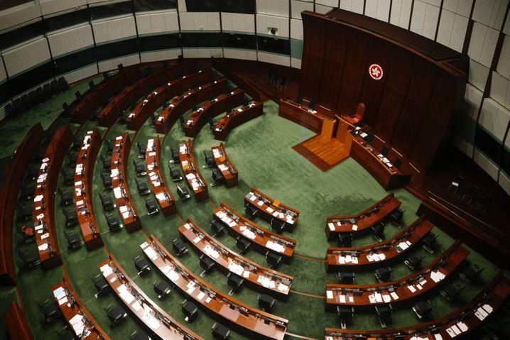 Kein Ort der Demokratie: Hongkongs Legislativrat