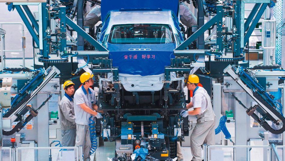 Audi in China (Archivbild)