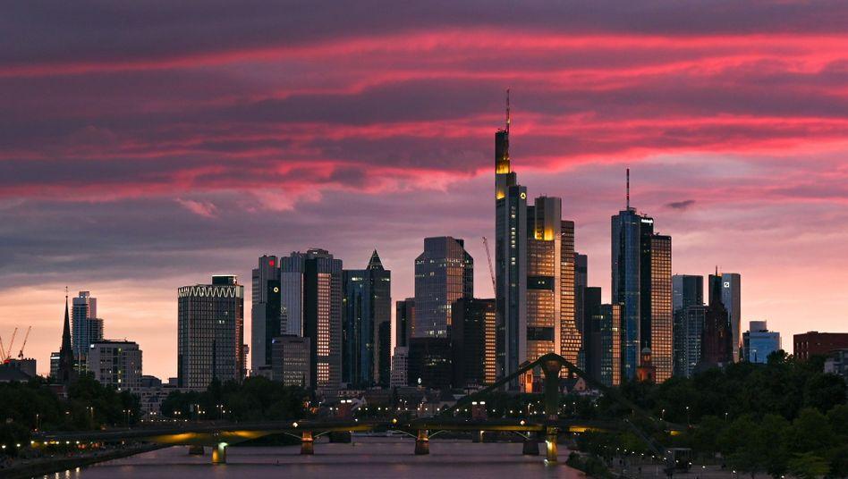 Bankenviertel in Frankfurt am Main: Kredite werden reihenweise ausfallen