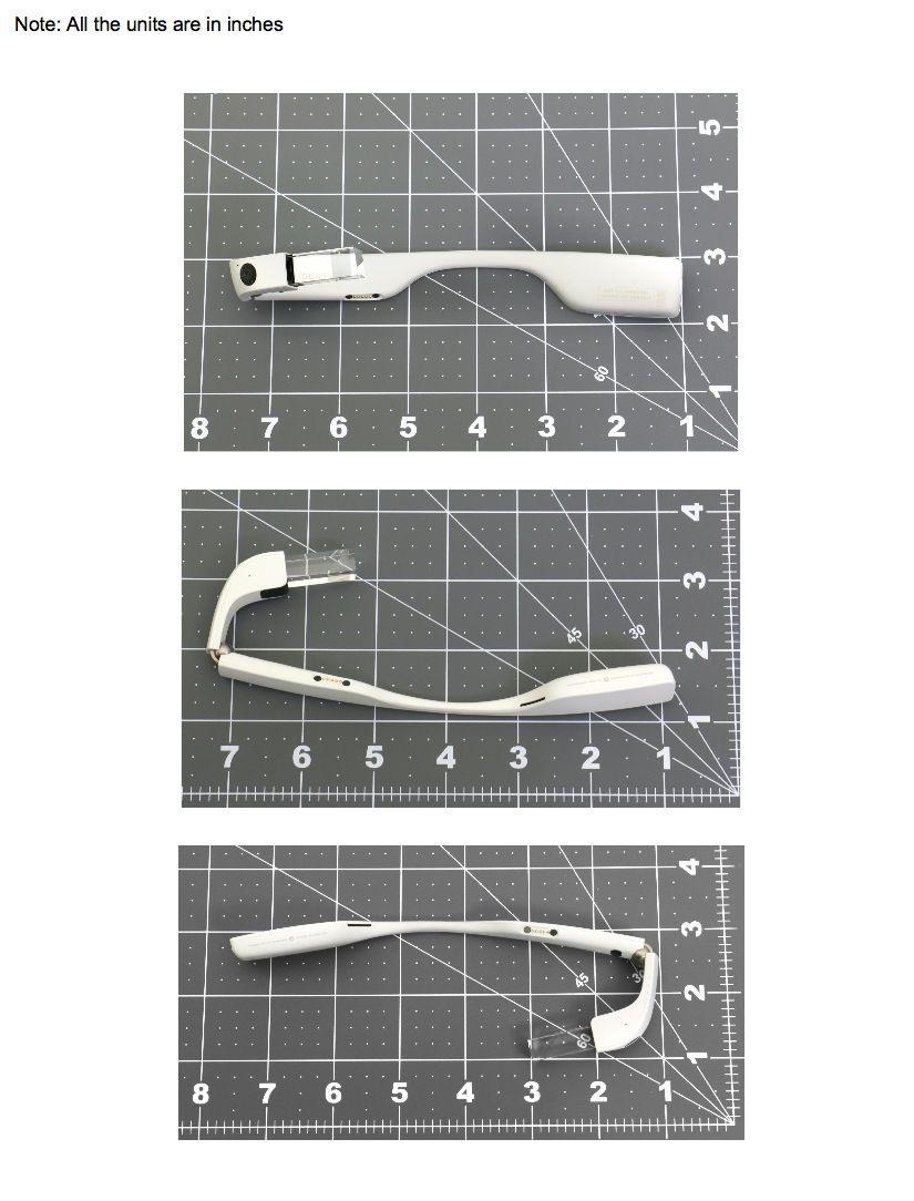 EINMALIGE VERWENDUNG Google Glass Modell