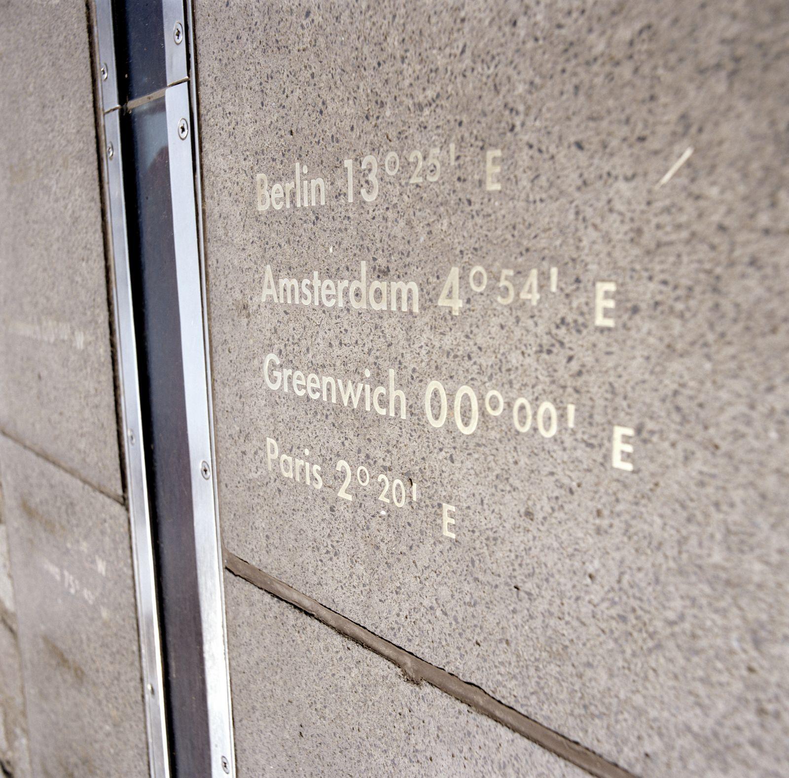 NICHT MEHR VERWENDEN! - Nullmeridian / Prime Meridian / Greenwich