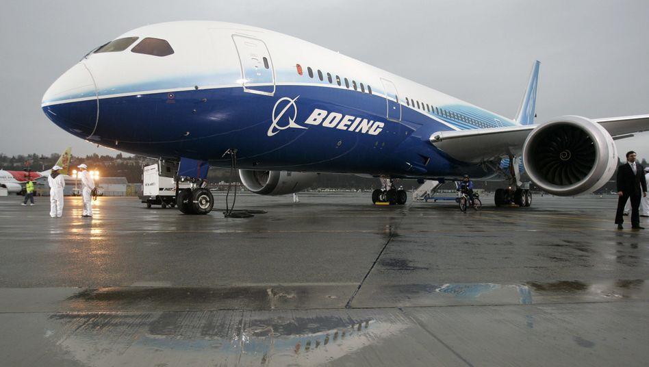 Boeing 787: Der Konzern setzt große Hoffnungen in den Dreamliner