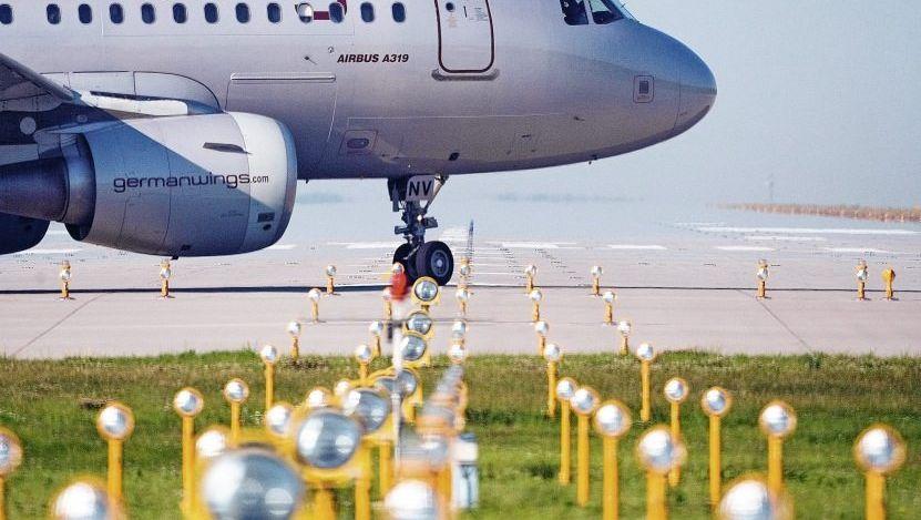 Germanwings-Maschine vor dem Start