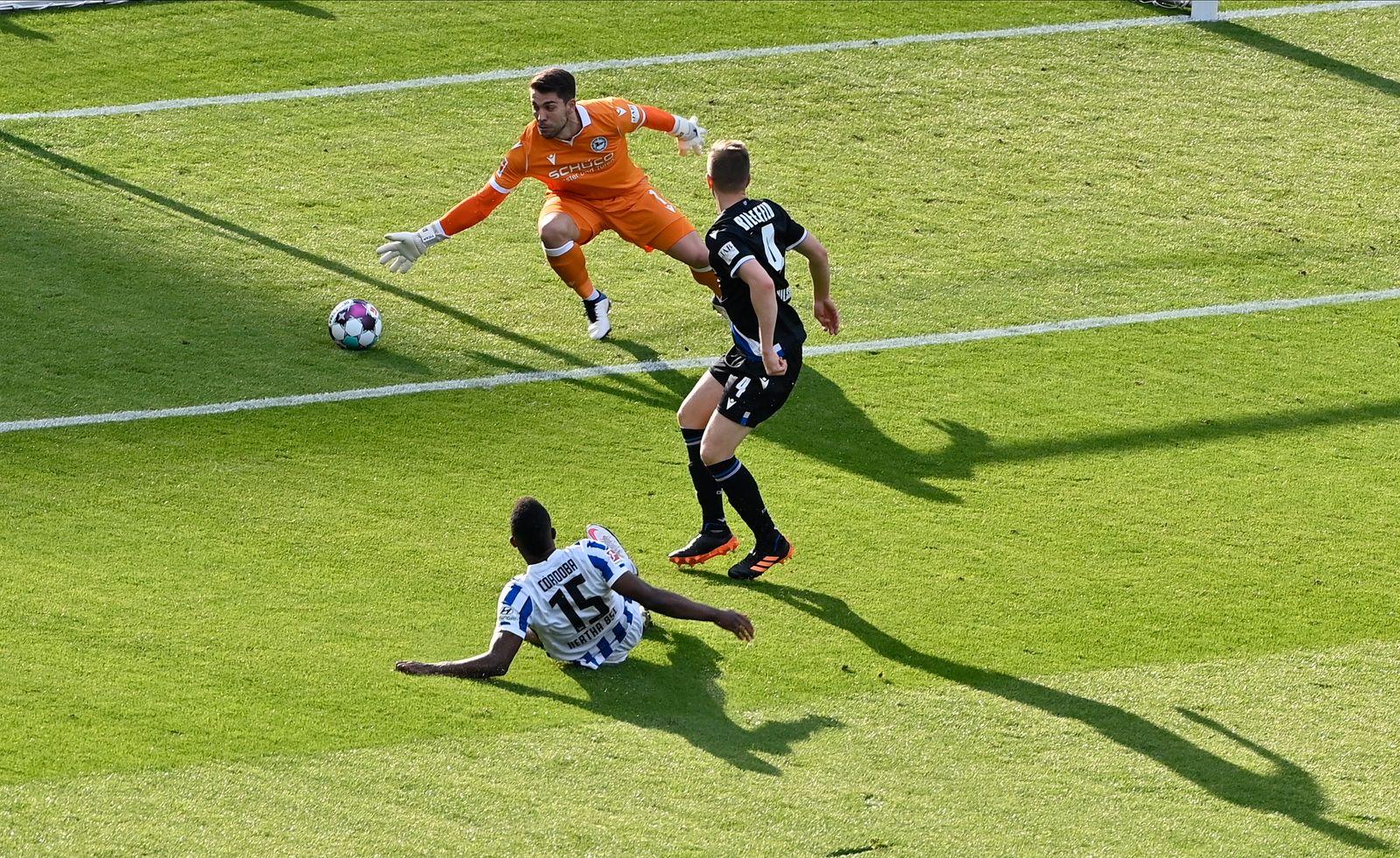 Hertha BSC Berlin vs Arminia Bielefeld