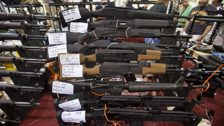 """Waffenmesse im US-Bundesstaat Virginia: """"Waffengewalt verhindern und reduzieren"""""""