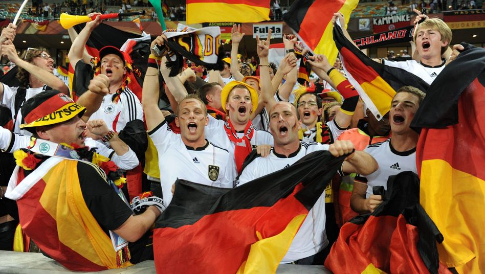 It's catchy: German supporters have a new, secret World Cup sing along to.