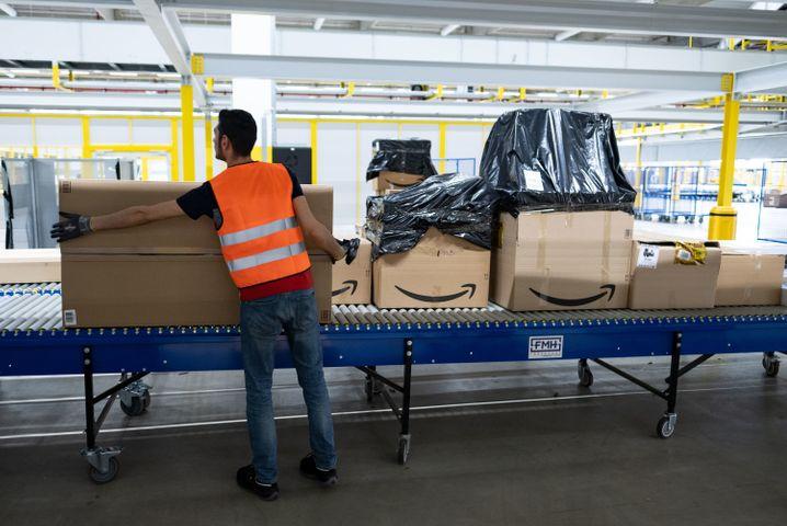Amazon-Sortierzentrum in Garbsen (Archivbild)