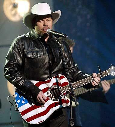Country-Sänger Toby Keith: die Grenze von Vaterlandsliebe zum Hurra-Patriotismus überschritten