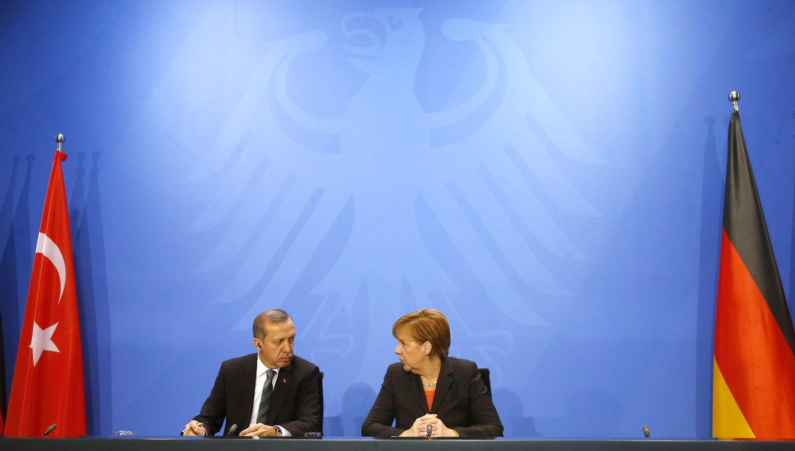 Merkel und Erdogan/