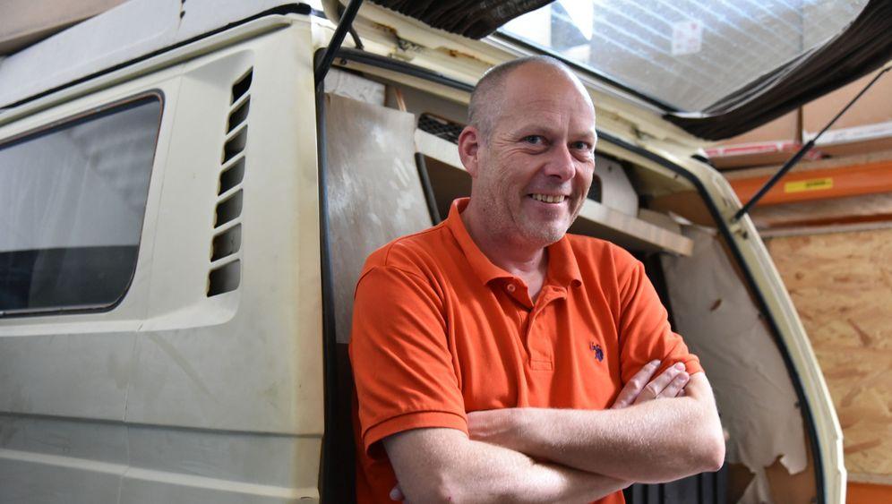 Ersatzteil-Händler Olaf Kuntze: Der Bulli als Beruf