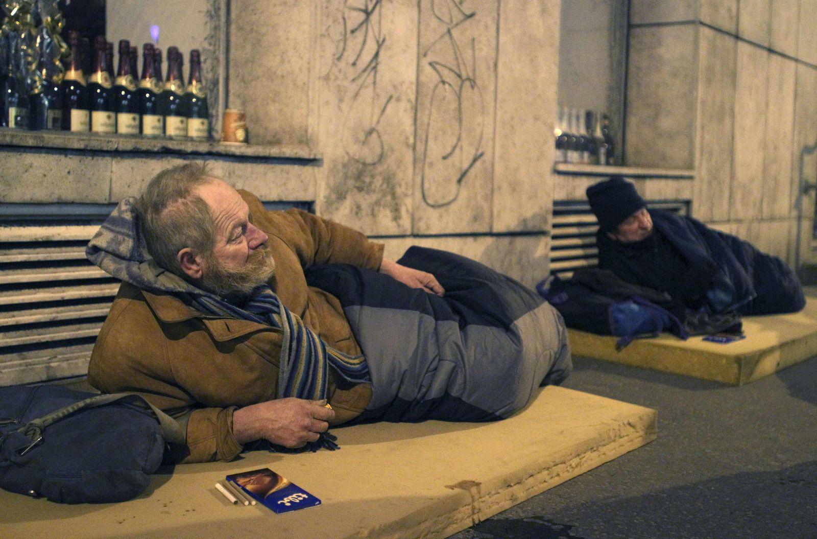 Ungarn/Obdachlose