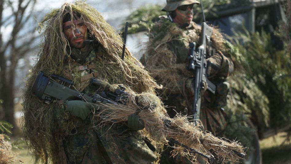 Scharfschützen der Bundeswehr: Ärger um eine Ausschreibung